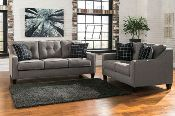 Brindon-Charcoal Sofa and Loveseat This is only $799