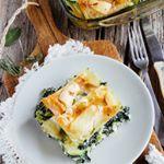 Lasaña de espinacas y calabacitas para una comida saludable y deliciosa  #food #foodie #recetas #recipes #saludable #veggy #vegetariano ##foodlover #cooking #comida #lasaña