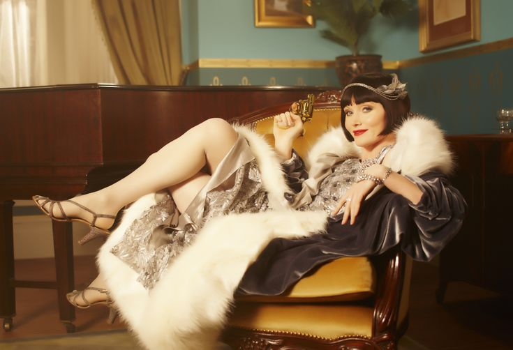 Miss Fisher's Murder Mysteries-I love a good costume drama with accents. Streaming
