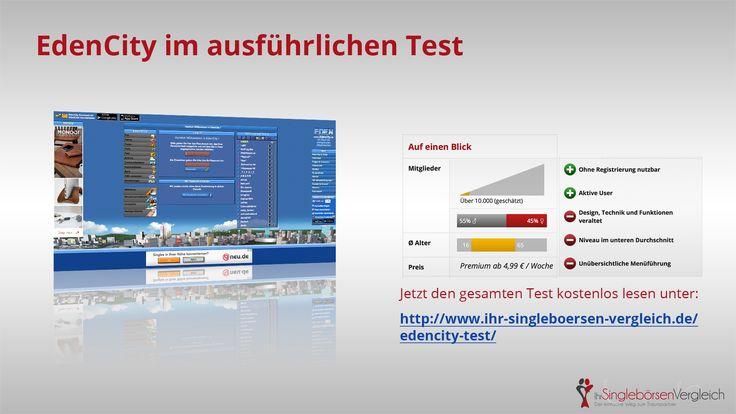http://www.ihr-singleboersen-vergleich.de/edencity-test/ EdenCity - die All-round-Community. Auch ohne Registrierung nutzbar.
