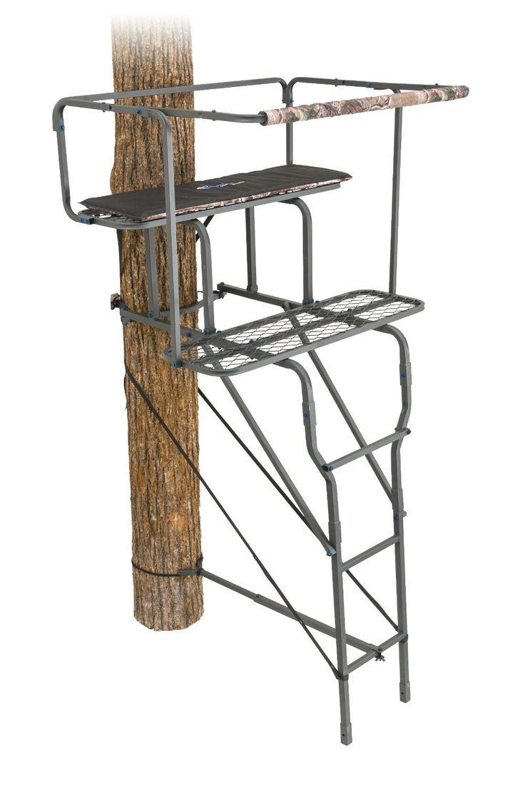 Ameristep 8500 Two Man Ladder Stand, 15'