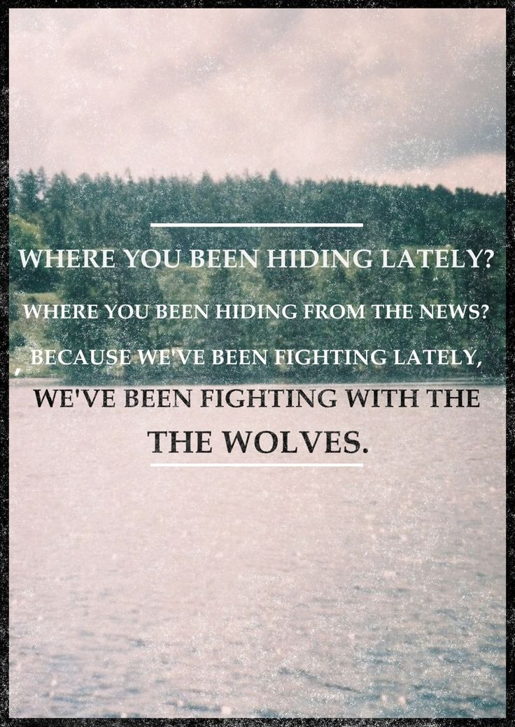 The Wolves. Ben <3
