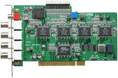 4 channel 120FPS BT878a chip DVR card for Linux and Zoneminder