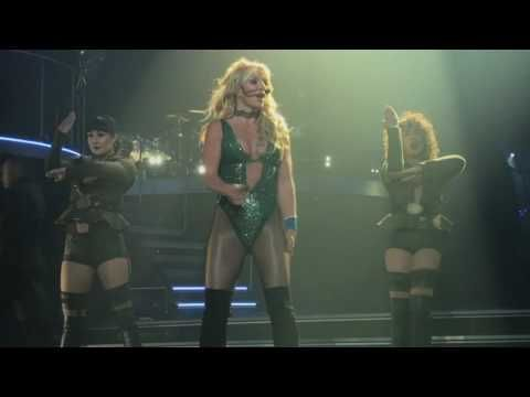 Britney Spears Piece Of Me 3/22/17 Front Row Part 1 - YouTube