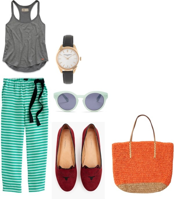 """""""Enjoying Sunday"""" by chachaaaw on Polyvore"""
