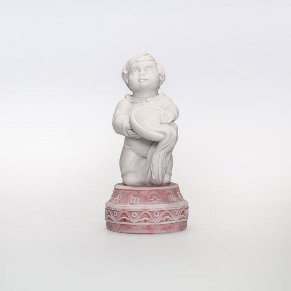 "The figurine Zodiac sign ""Aquarius the Water Bearer""  Russian Handmade Souvenir on Etsy, 27,99$"
