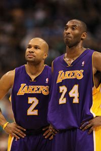 Could Lakers get the gang back together? Kobe Bryant wants Lamar Odom and Derek Fisher in Los Angeles.