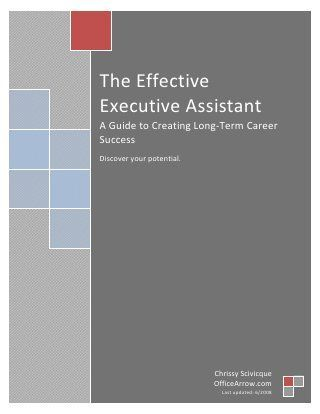 The effectiveexecutiveassistant
