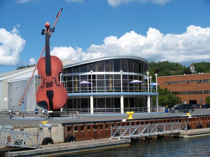 The Big Fiddle,  Sydney Cape Breton