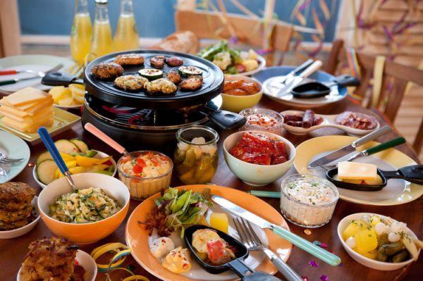 Raclette basics and food list