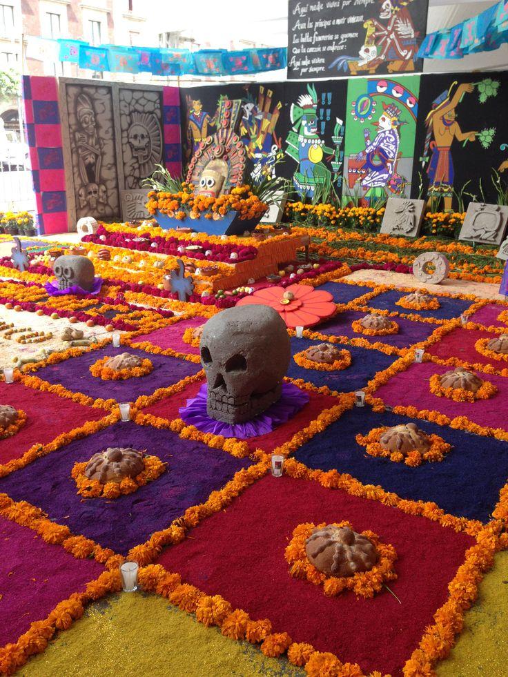 Dia de los Muertos/Day of the Dead~Ofrenda Día de Muertos en el Zócalo 2013.
