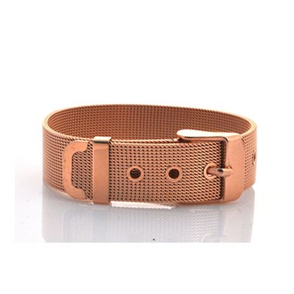 LUX Giveaway: Rose Gold Buckle Bangle