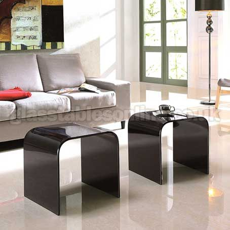9 best Glass Lamp Tables images on Pinterest Glass end tables - lamp tables for living room