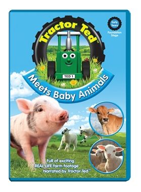 March 18, 2015: Tractor Ted Meets Baby Animals DVD     https://view.vzaar.com/3042642/flashplayer http://www.tractorted.co.uk/meets-baby-animals#.VQmkOApjh3c.twitter