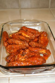 The BEST Chicken Wings in the Valley, Perhaps the Nation - Great Baked Chicken Wings via Madison House Chef
