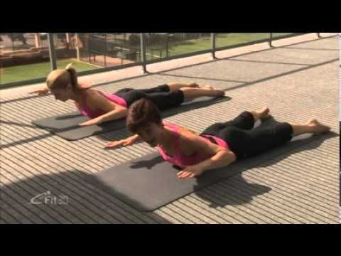 Pilates for Beginners - eFit30 - YouTube