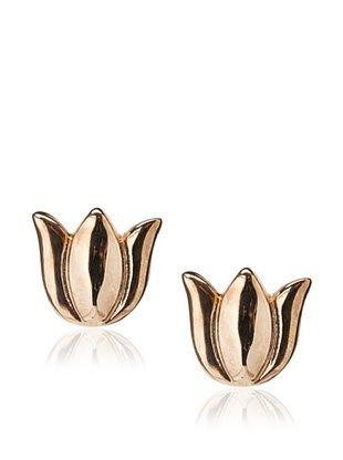 Tuleste Rose Tulip Stud Earrings
