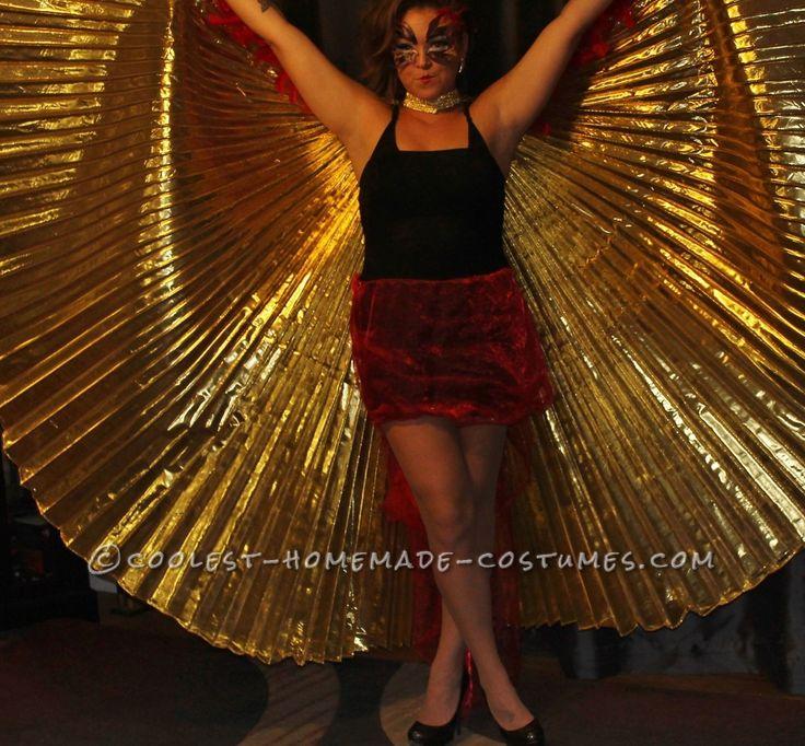 glamorous homemade phoenix costume - Halloween Costumes In Phoenix