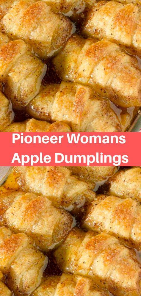 Pioneer Womans Apple Dumplings #Pioneer #Womans #A…