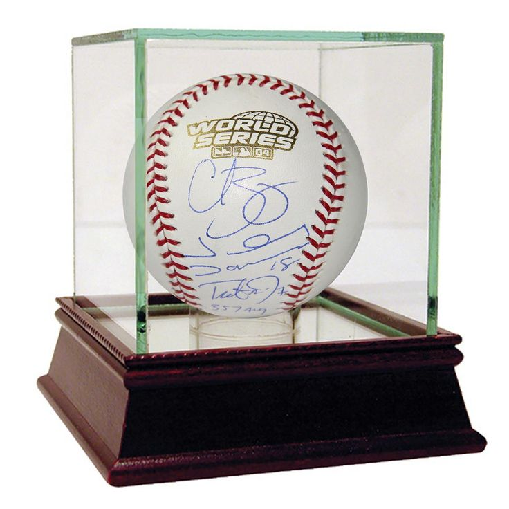 Curt SchillingJohnny DamonTrot Nixon (357 Avg)Jason Varitek Multi Signed 2004 World Series Baseball