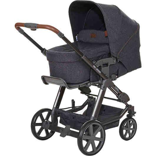 Der praktische und benutzerfreundliche Kombi Kinderwagen Turbo 4 von ABC Design bietet Ihrem Baby einen hohen Komfort. Er lässt sich einfach zusammenlegen und dank des leichten Aluminiumgestells und der Transportsicherung bequem transportieren. <br /> <br /> Die schwenk- und feststellbaren Vorderräder wurden von 7 Zoll auf 8 Zoll vergrößert und sind nun ebenfalls gefedert. Die Vorderräder können sich um 360° drehen und ermöglichen daher besondere Wendigkeit. Der höhenver...