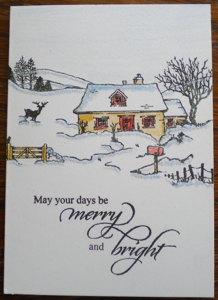 Quick and easy made using Hobby Art Stamps