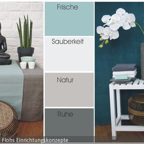85 best Raum gestalltung 02 images on Pinterest Architecture - wohnzimmer grau türkis