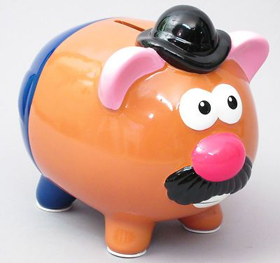 Mr. Potato Head PIGGY BANK Toy Story