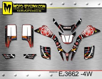 €139,90   Moto-StyleMX Full graphics kit.  The kit is supplied standard with white number plate backgrounds, however if you need another, please put what you need in your order notes.  Fits the Yamaha Blaster 200 '88-'06