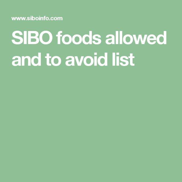 Gaps Allowed Foods List