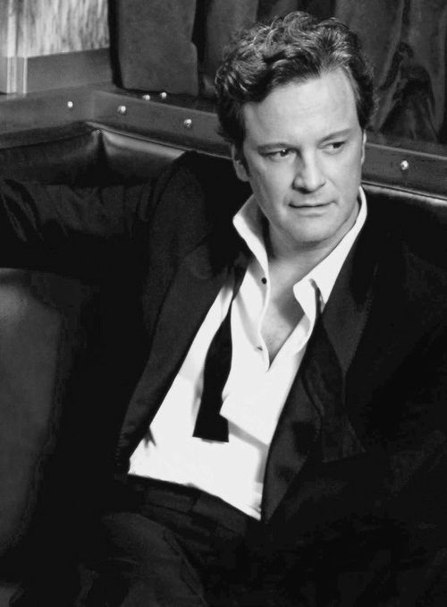 Colin Firth  for Harper,s Bazaar UK