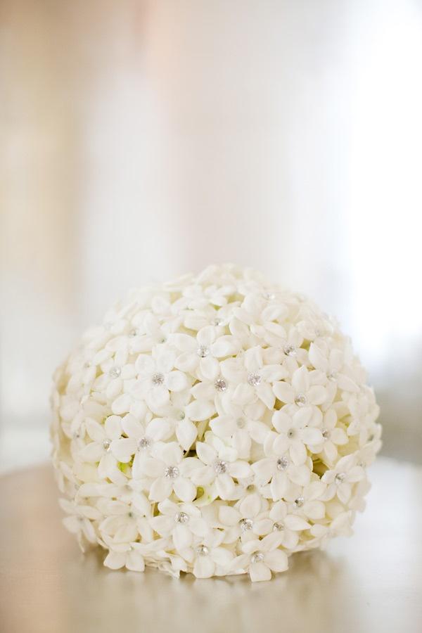 DIY flower girl bouquet ball