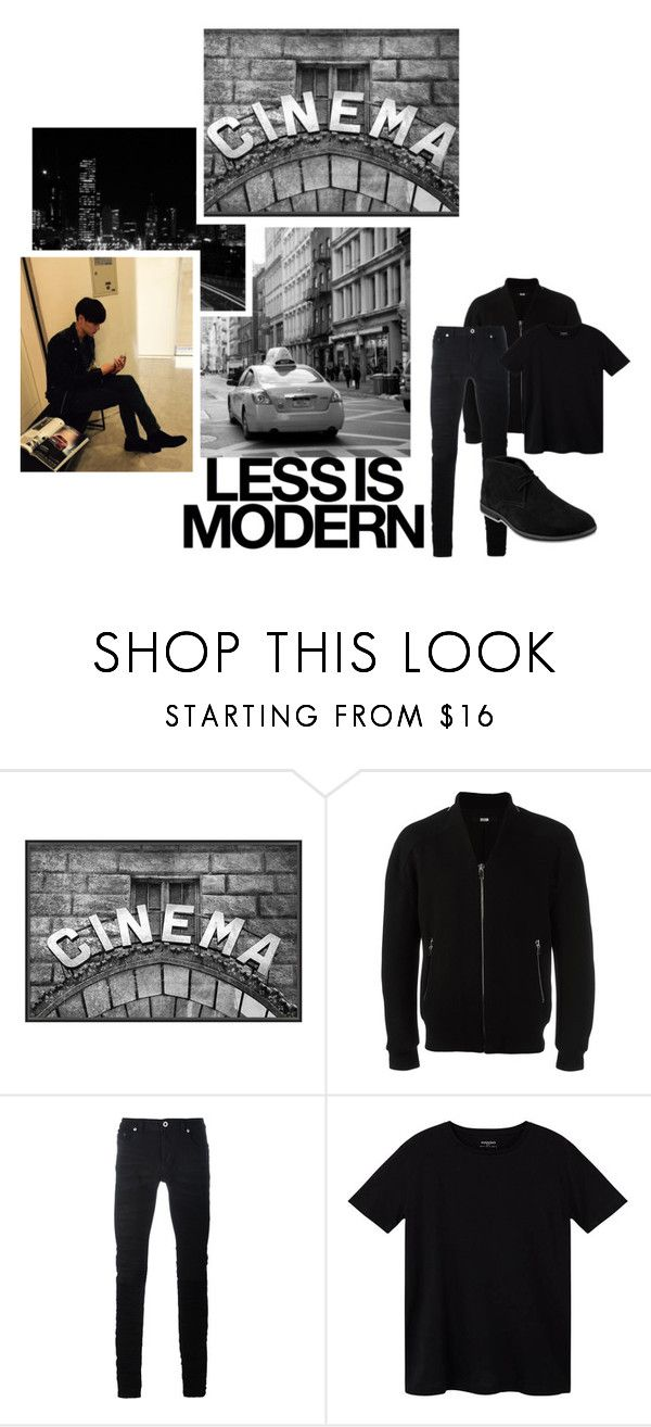 """TeSt 3: MoViEs"" by yun-namjoon ❤ liked on Polyvore featuring Pottery Barn, System Homme, Diesel Black Gold, MANGO MAN, Serfontaine and taggingforthememes"