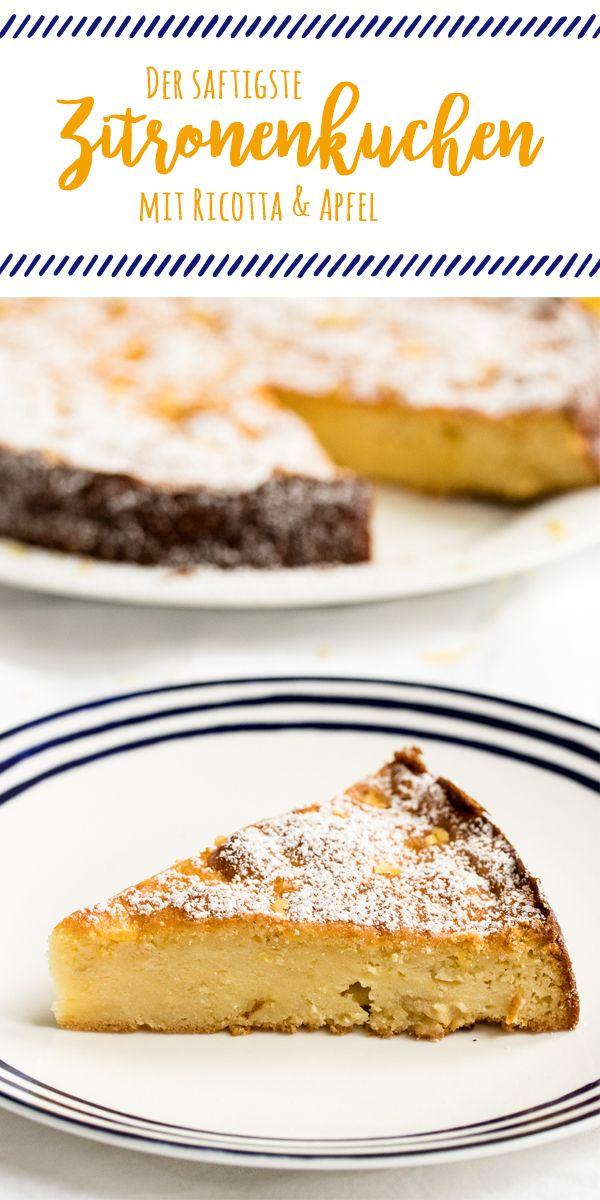Schneller Kuchen für jede Gelegenheit: Saftig, nicht zu süß und ein Hauch von dolce vita. Das ganze Rezept für saftigen Zitronenkuchen gibt es auf www.we-love-pasta.de