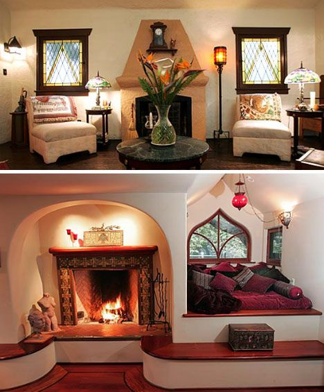 Storybook Home Interior Decor Love The Window Seat