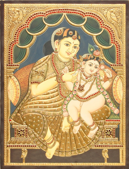 Classic Tanjore Painting.