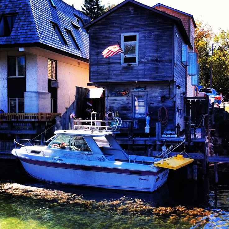Leland, Michigan .. Fish Town