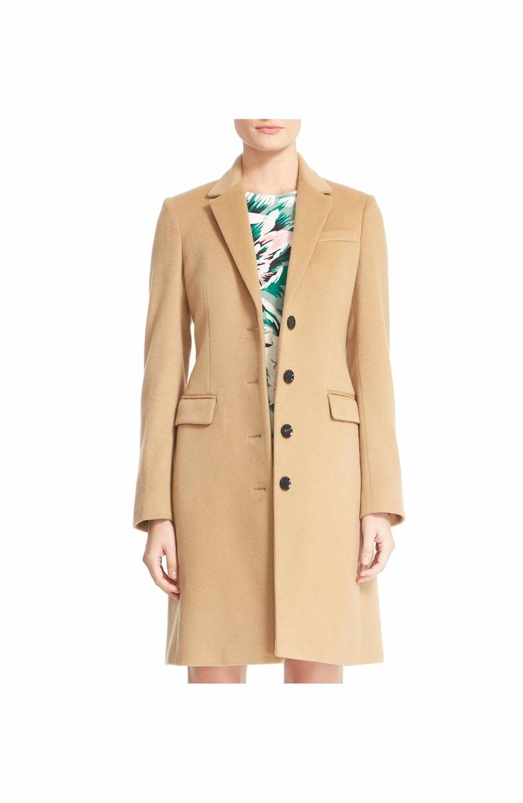 Main Image - Burberry Sidlesham Wool & Cashmere Coat