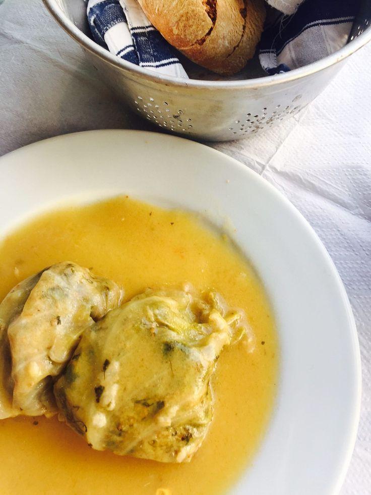 Lamsgehakt in wijnbladeren Grieks gerecht foodblog Foodinista