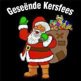 Geseende Kersfees!