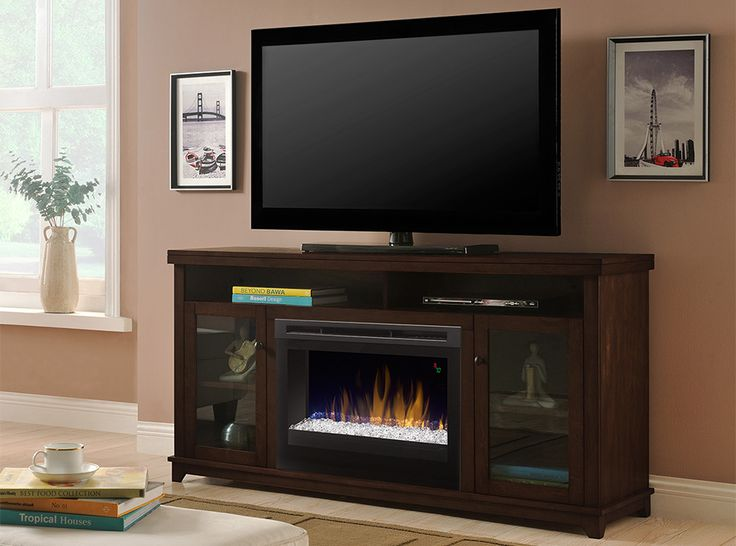 Dimplex Dupont Electric Fireplace Media Console | $645