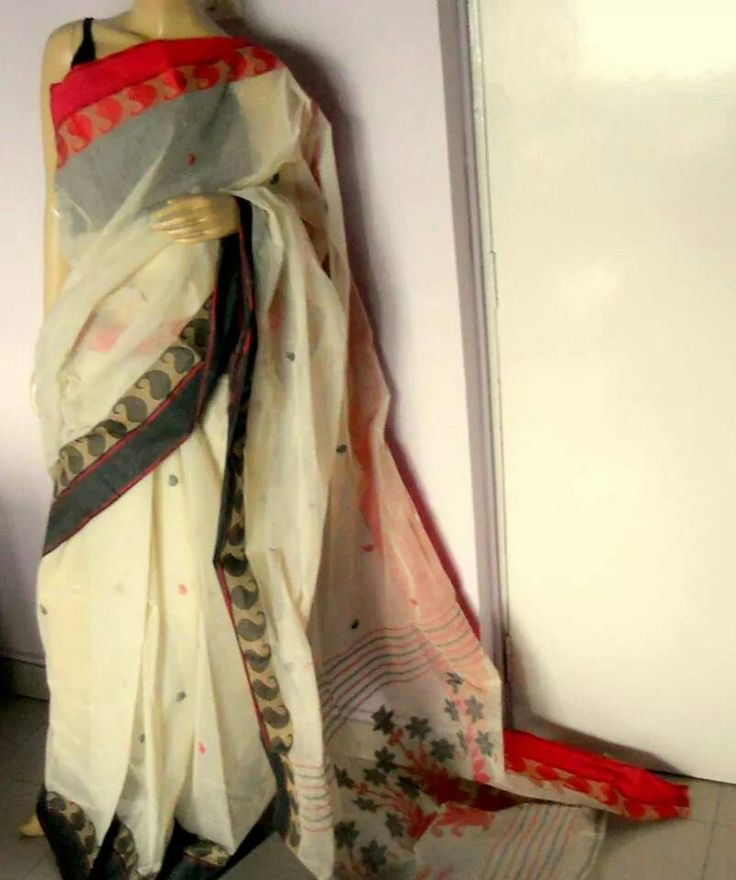 Bengal tangail handloom cotton saree