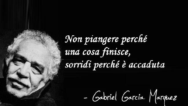 Le frasi celebri di Garcia Marquez - Tgcom24