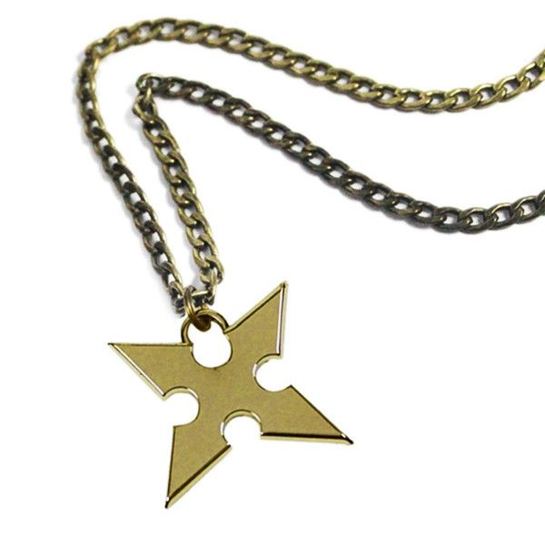 Kingdom Hearts Roxas Cross Necklace. Great gift for a Kingdom Hearts fan!