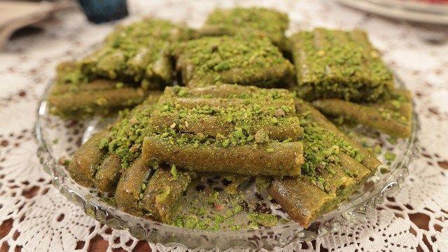 Gaziantep Yeşilim Tatlısı | Nursel'in Mutfağından Yöresel Yemek Tarifleri