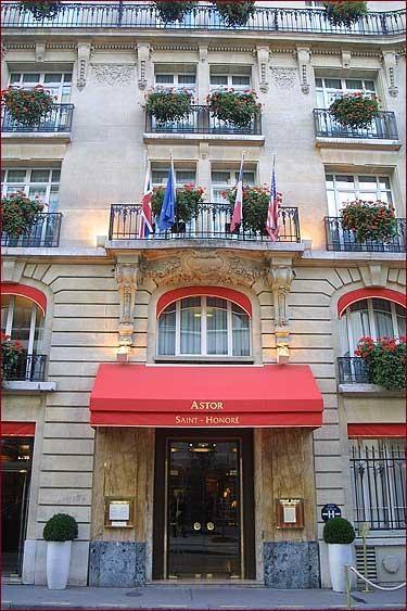 Hôtel Astor Saint-Honoré