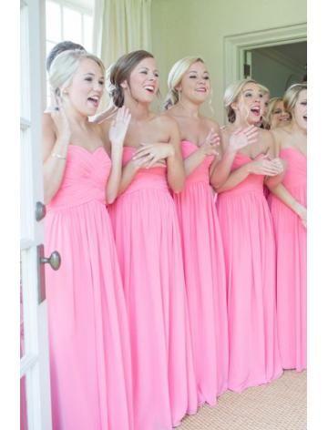 Liefje Chiffon Bruidsmeisjesjurken