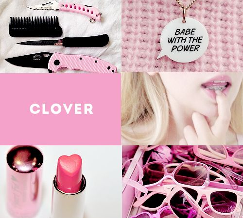 clover aesthetic