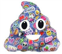 """Gummy Bear scented poop """"Patch Me If You Can Poop Pillow."""""""