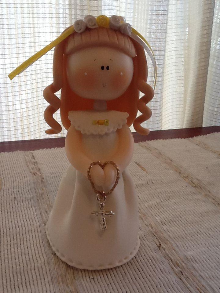muñecas de porcelana fria para comunion - Google Search